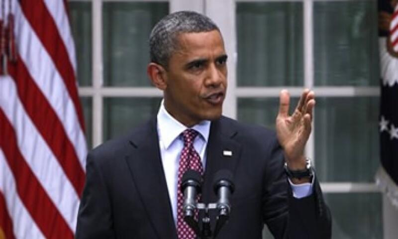Barack Obama reconoció que no podía controlar el ritmo de las cuestiones en Europa. (Foto: Reuters)