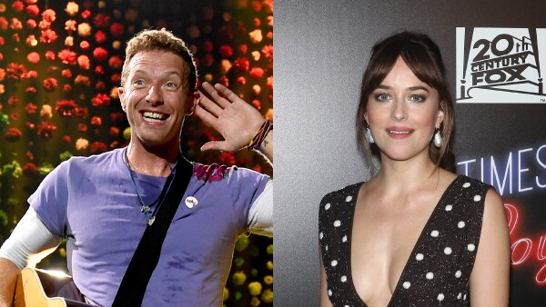 Dakota Jhonson Chris Martin