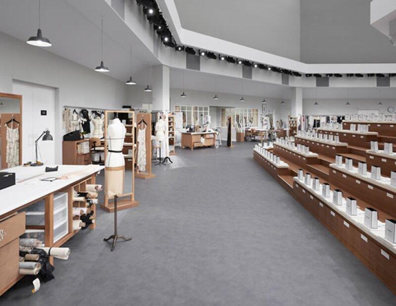 Karl Lagerfeld llevó los talleres de Chanel al Grand Palais.