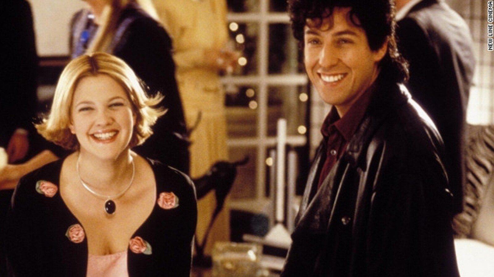 Drew Barrymore y Adam Sandler