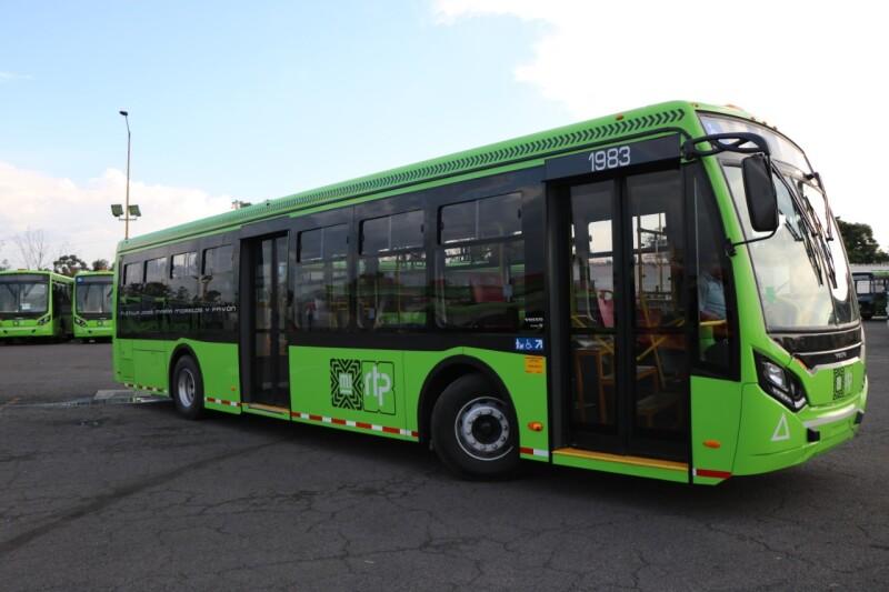 Se compraron 97 vehículos nuevos para la Red de Transportes Eléctricos y Metrobús. Foto: Gobierno CDMX