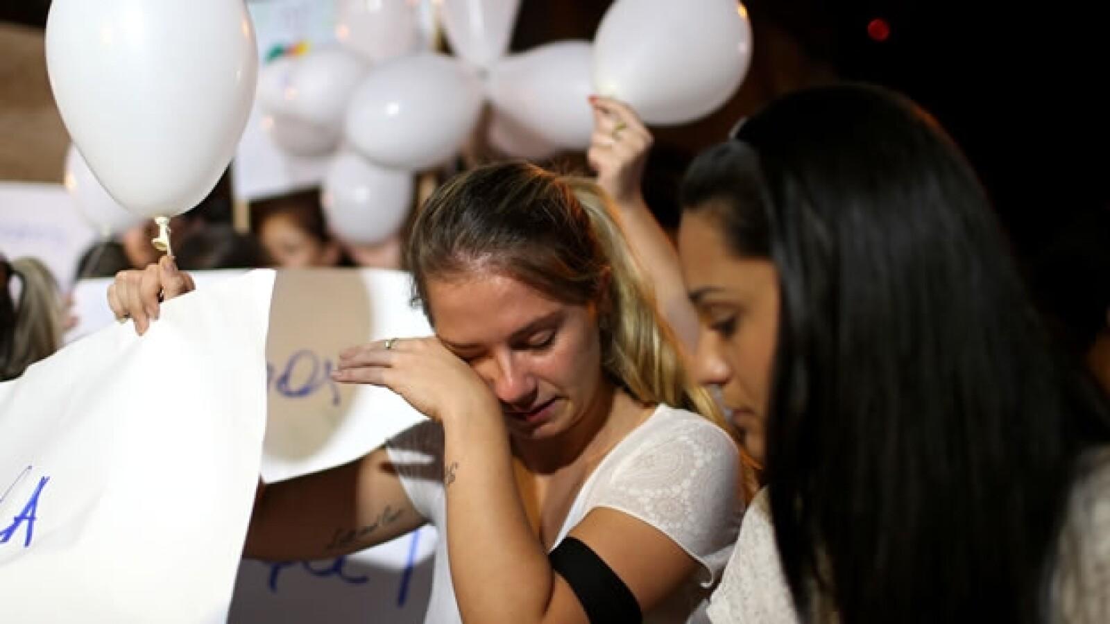 Brasil marcha victimas discoteque Kiss