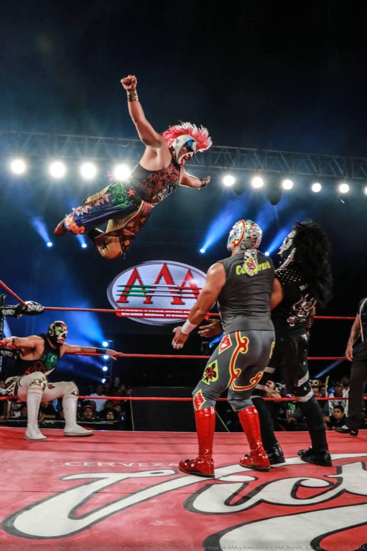 Twitch de Amazon trasmitirá la lucha libre mexicana