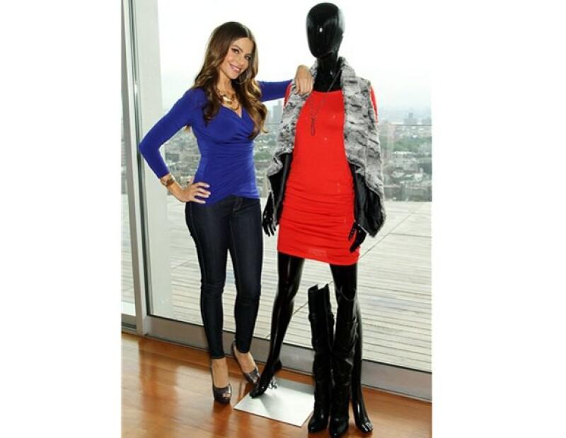 Sofía se atrevió a lanzar su línea de ropa porque las personas siempre le pedían consejos de moda.