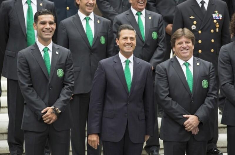 El presidente de México aseguró que el cuadro tricolor se ha colocado como un rival a la altura de los mejores del mundo.