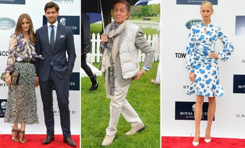 Olivia Palermo, Valentino y Karolina Kurkova fueron algunos de los invitados que resaltaron en el exclusivo club de polo de Greenwich.