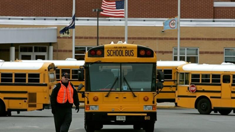 escolar, bus, transporte, secundaria,