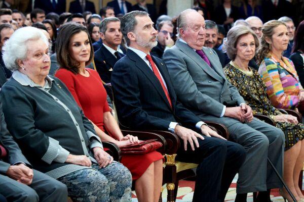 Spanish Royals Attend 'Premios Nacionales Del Deporte 2017'