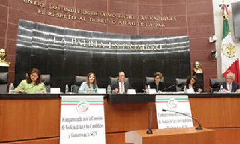 Los senadores participan en el proceso de renovación de la SCJN (Foto: Senado/Cortesía )