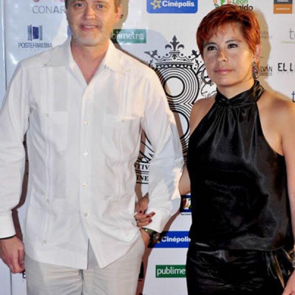 Walter Navas y Shanon Briseño
