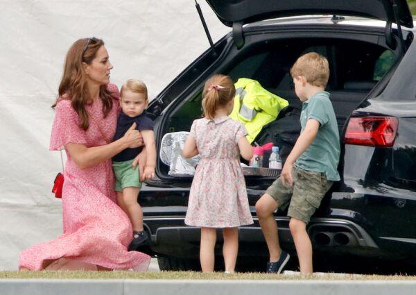 Kate Middleton y sus hijos