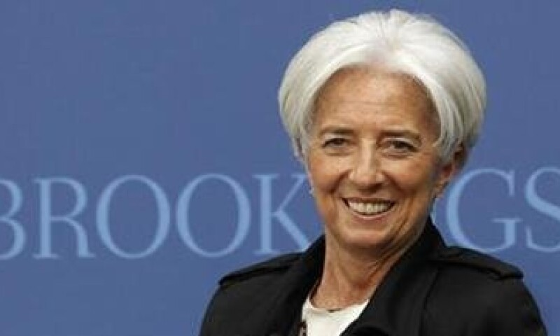 Christine Lagarde estimó que necesitaría 500,000 millones de dólares adicionales para prestar a los países con problemas de deuda. (Foto: Reuters)