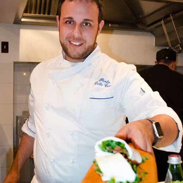 Chef Paolo Della Coste