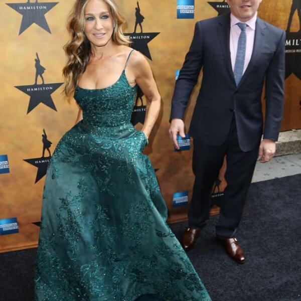 Sarah Jessica Parker y su esposo Matthew Broderick.