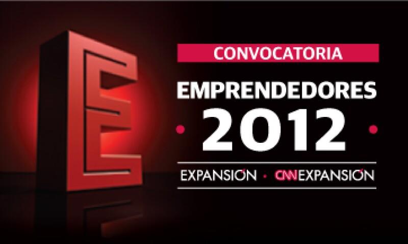 En 2012 la revista Expansión y CNNExpansión premiarán a los Emprendedores del Año en dos categorías: De alto potencial y En pleno crecimiento.
