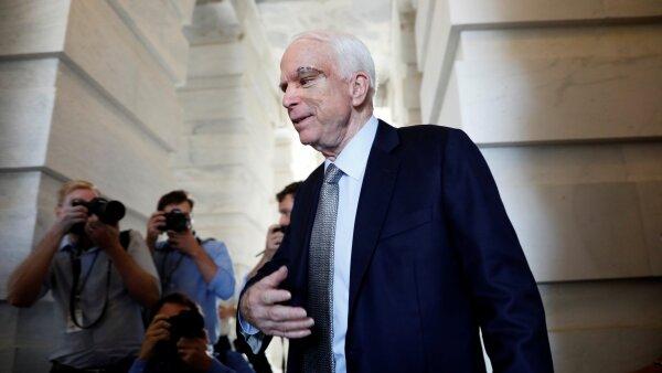 Sin McCain en el Congreso