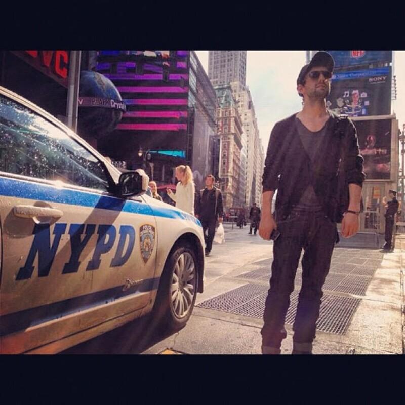 En Nueva York pasó uno de los momentos más chistosos de su vida.
