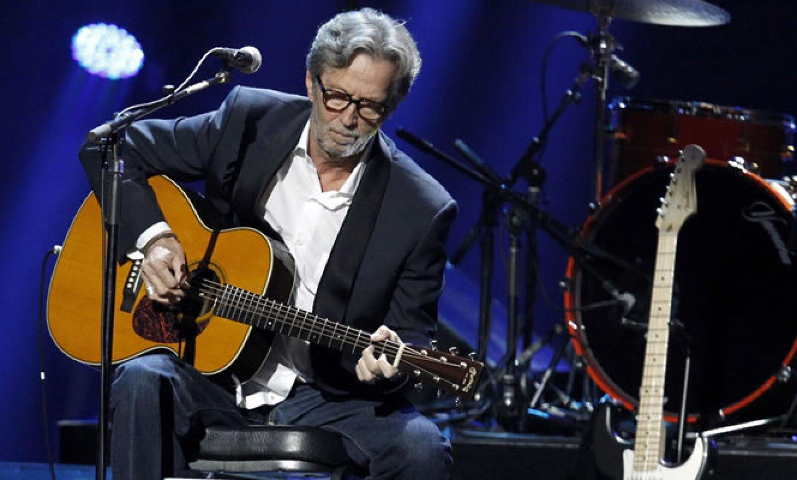 El blues corrió a cargo del legendario Eric Clapton. Los boletos, que se vendieron entre 150 y 2,500 dólares, se agotaron.