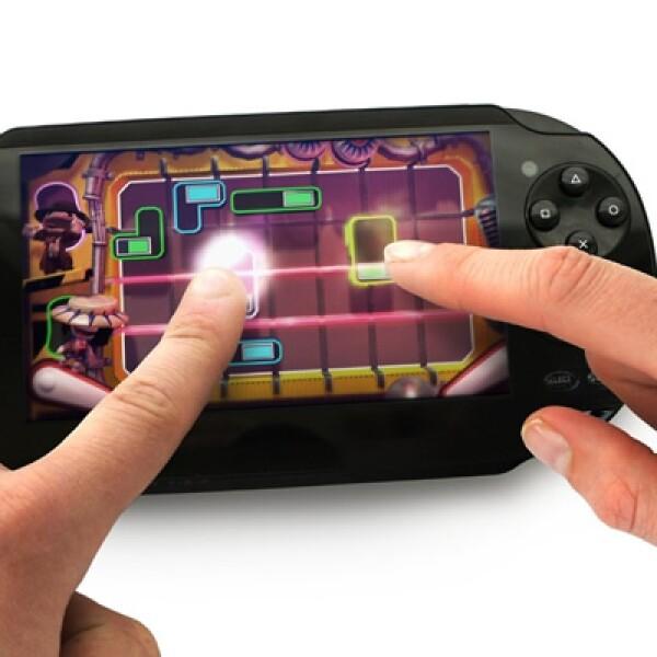 La pantalla táctil de la consola servirá para manejar tu personaje, conocido como Sackboy.