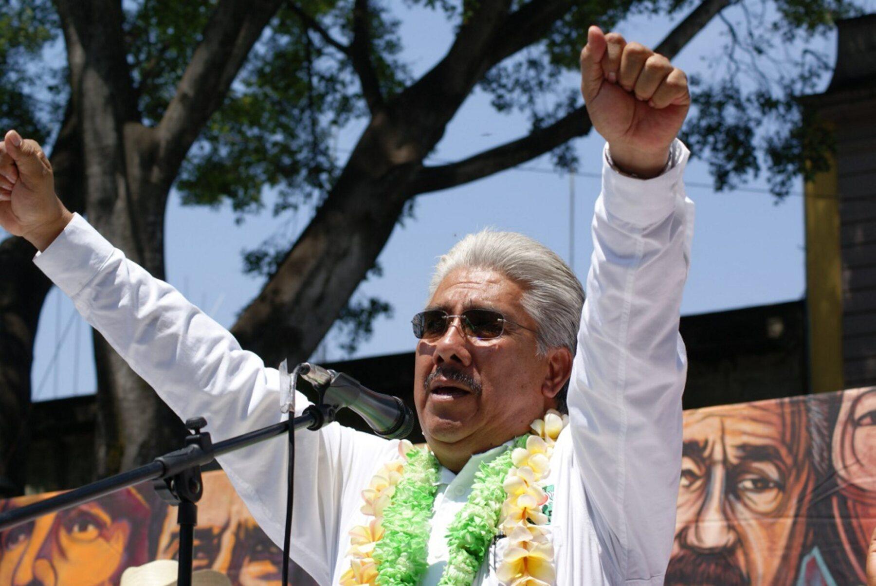 El candidato del Partido Unidad Popular (PUP) a gobernador de Oaxaca, Francisco Javier Jiménez, enfoca sus promesas de campaña en seguridad, empleo y salud.