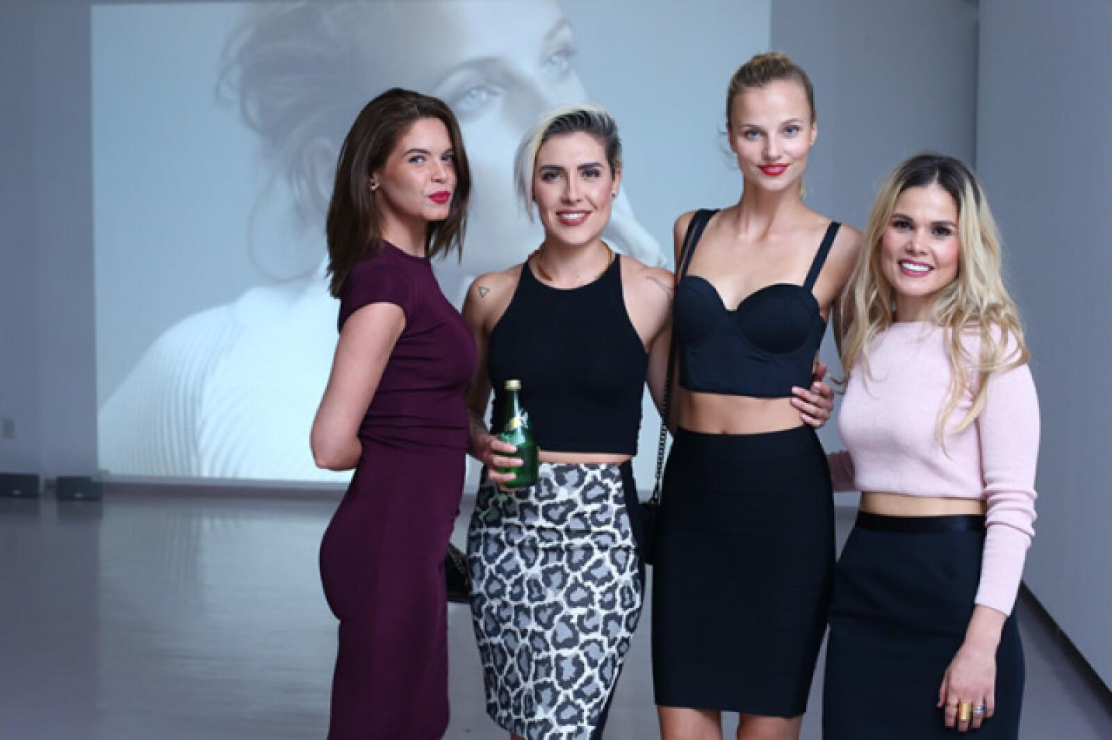 Aldara Salido, Antonieta Fernández, Nadia Murgasova y Mariana Estrada