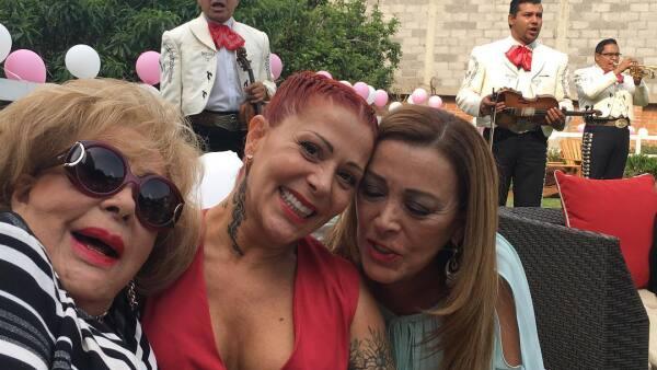 Alejandra Guzmán y Sylvia Pasquel
