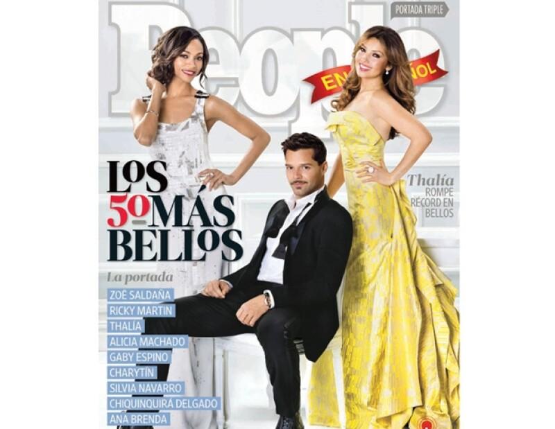 Por ser las más guapas de este año, estas mexicanas engalanan una de las portada la revista, en su versión en español; David Zepeda y Eugenio Siller se unen al conteo.