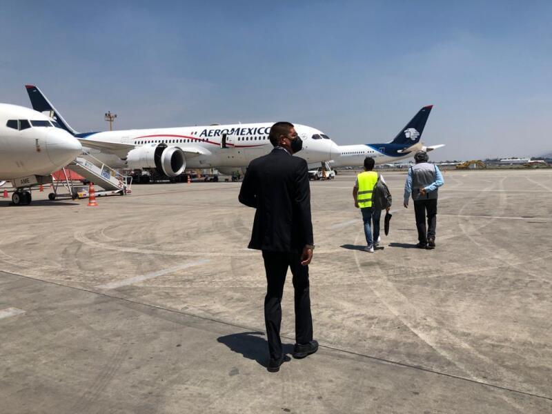 Sobrecargo Aeromexico