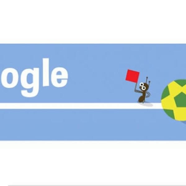 Una hormiga verifica que el balón no cruce toda la línea para que un tiro pueda considerarse un gol, utilizando la tecnología de la FIFA