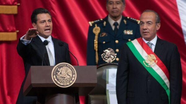 Enrique Peña Nieto y Felipe Calderón .jpeg