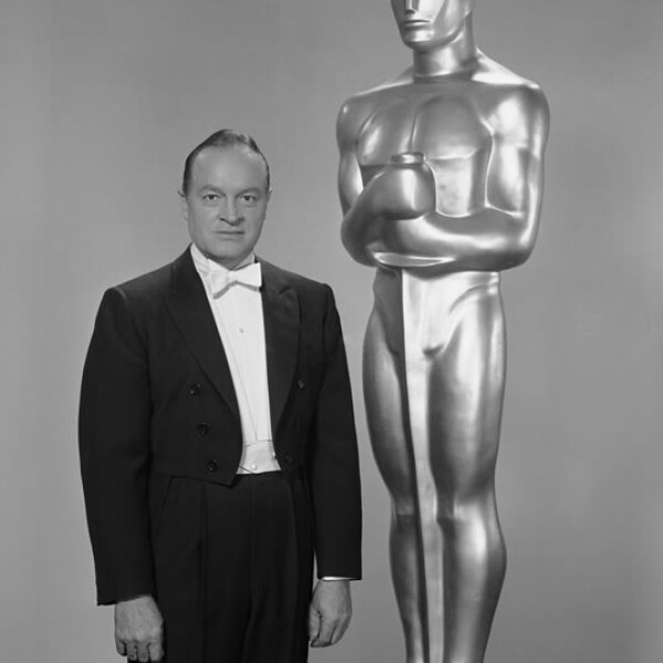 Bob Hope fue anfitrión de los premios de la Academia 14 veces