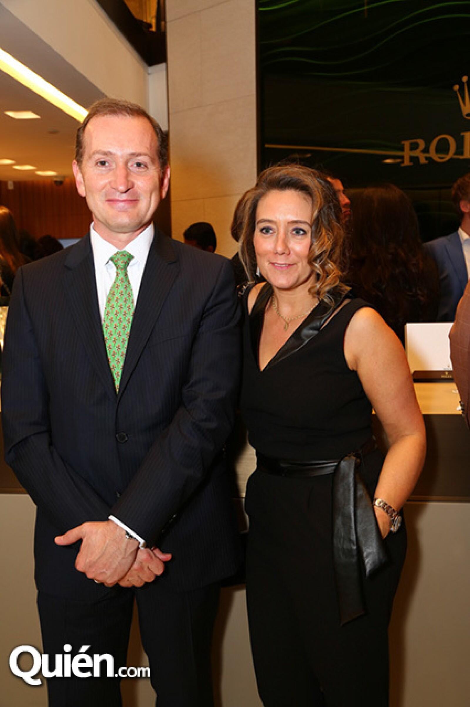Gonzalo Álvarez y Caroline Muyl