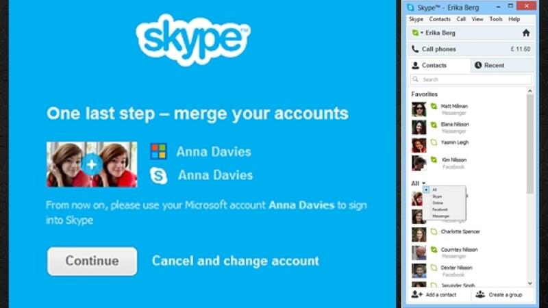Skype + Messenger