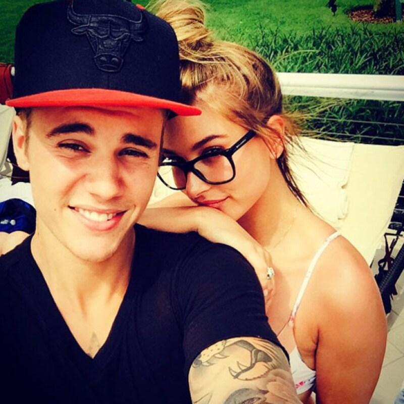 Justin y Hailey, una pareja que no le ha puesto nombre a su relación.