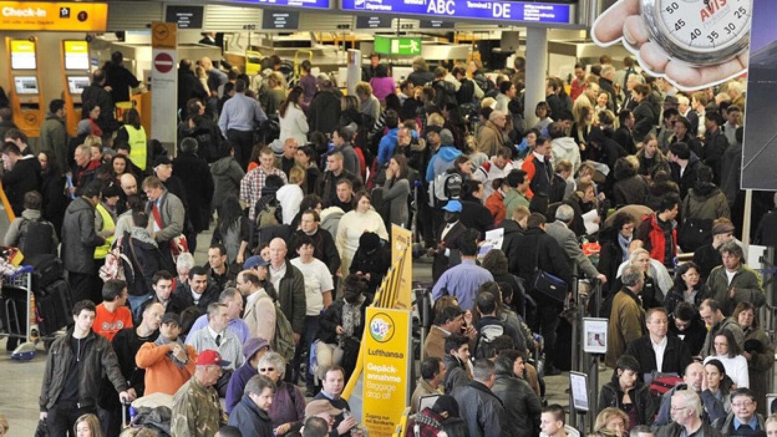 Alemania - mal clima - aeropuertos