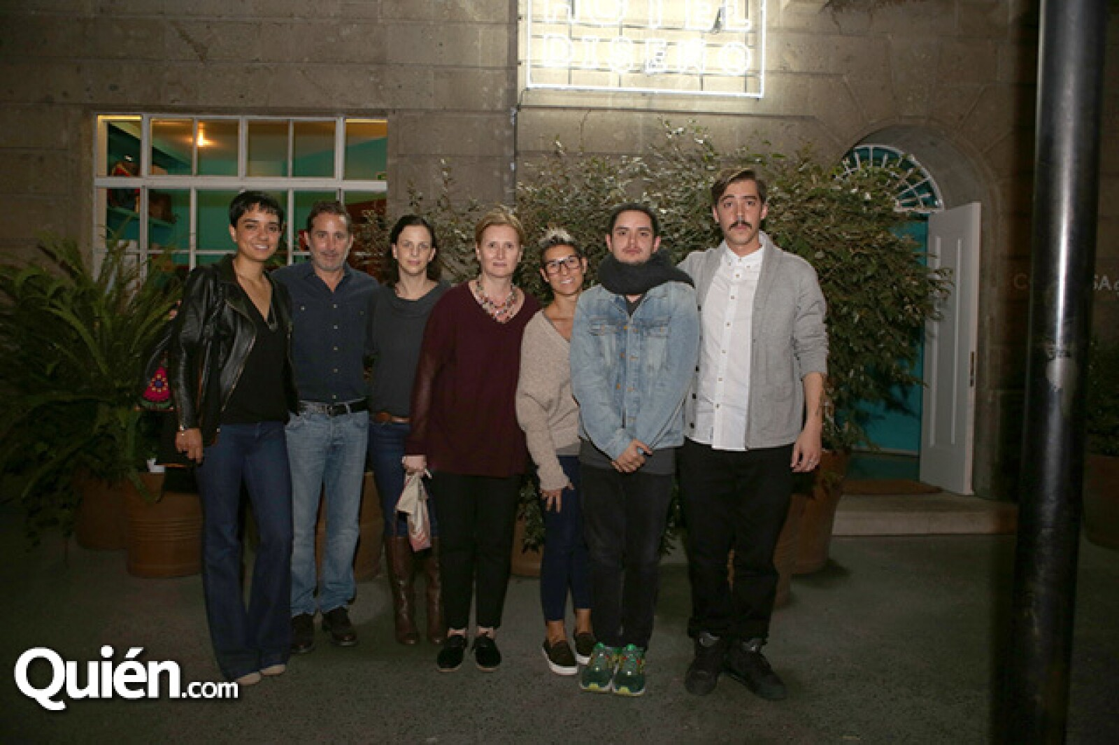 Renata Becerril,Moisés Micha,Cecilia León de la Barra,Ana Elena Mallet,Tania Esparza,Carlos Maldonado y Juan Pablo Viedma