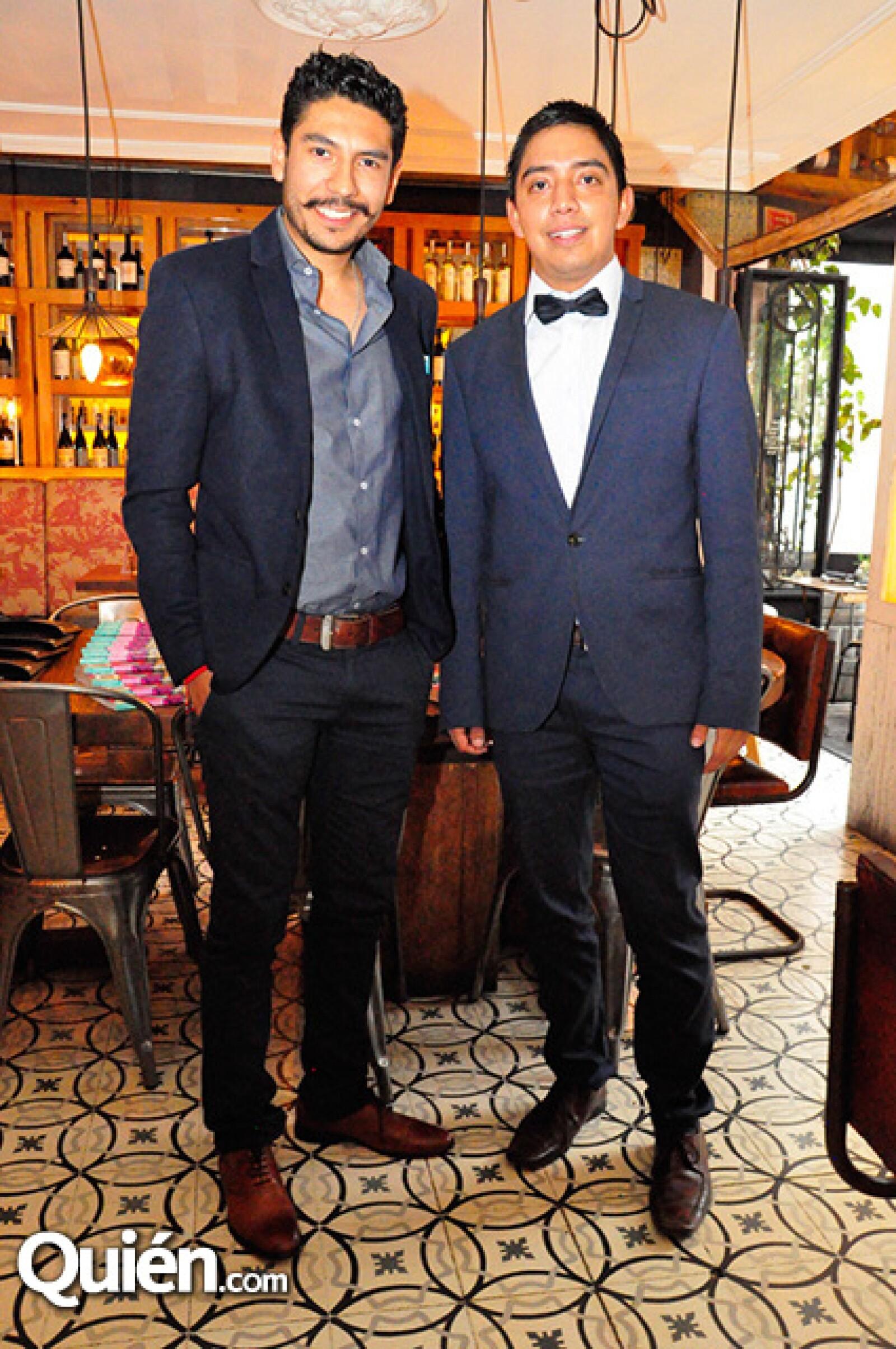 Abraham Buenrostro y Fernando Lua
