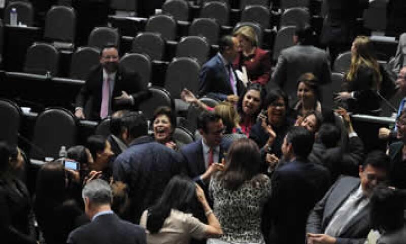 Tras más de 12 horas de discusión, diputados federales aprobaron el Presupuesto de Egresos de para el siguiente año. (Foto: Cuartoscuro )