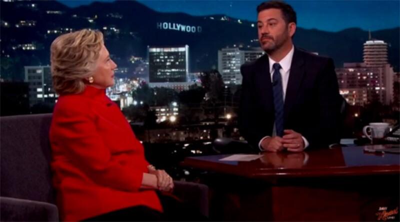 Hillary Clinton visitó el programa de Jimmy Kimmel el día de ayer y sólo tenemos una cosa que decir: ¡la amamos!