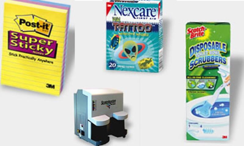 A la fecha existen más de 160 inventos de 3M en México. (Foto: Especial)