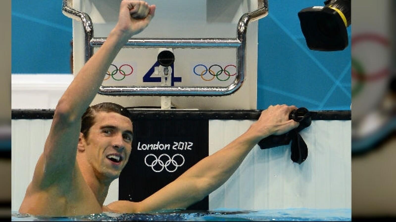 Michael Phelps, medalla, olimpica, nado