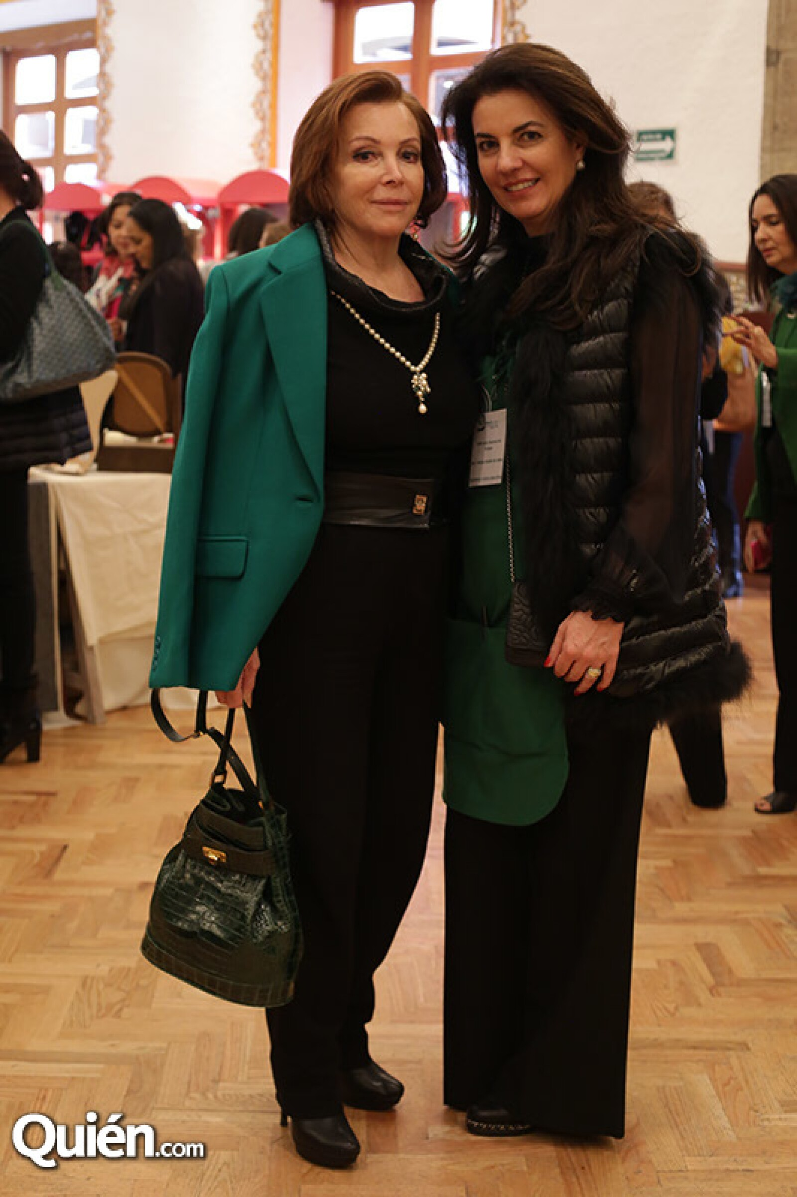 Maria Luisa Serna y Tere Cabal