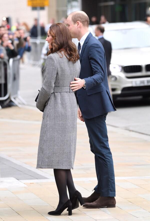 Los Duques de Cambridge, William y Kate.