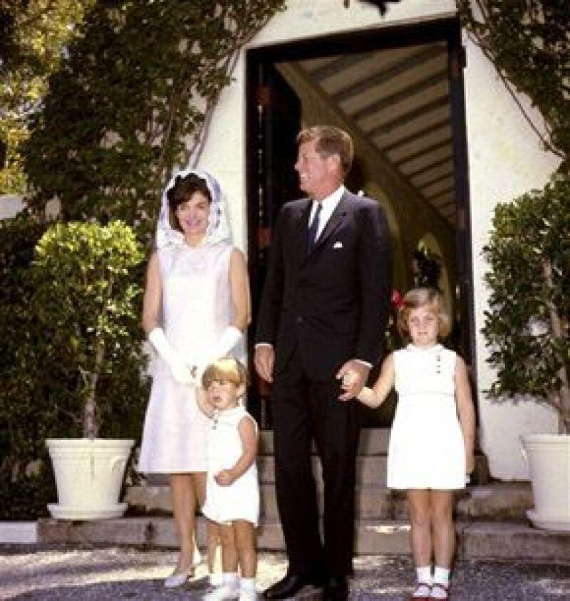 Los niños Kennedy solían divertirse en la casa con ponys.