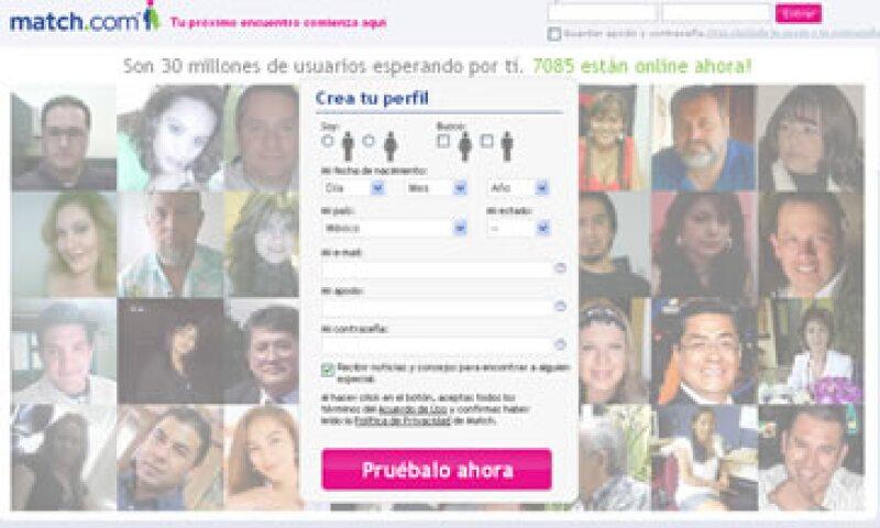 Las compañías acordaron el lunes verificar a los suscriptores en las bases de datos de delincuentes sexuales. (Foto: Tomada de match.com.mx)