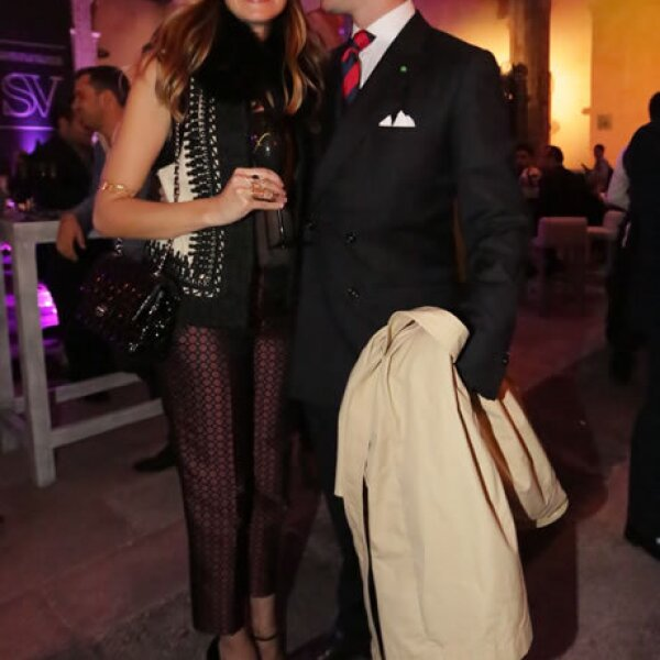Erika Ponce y Teo Harrsch