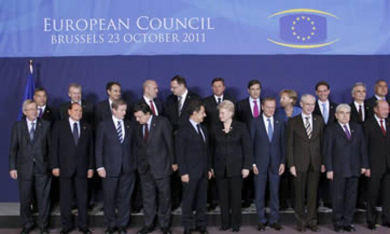 El PMI de la zona euro se hundió a 47.2 en octubre desde el 49.1 del mes pasado, una lectora por debajo de 50 significa contracción. (Foto: Reuters)