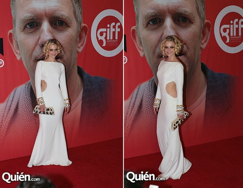 Las talentosas actrices robaron las miradas de los espectadores a su llegada a la red carpet de la primera gala del cine en la capital de Guanajuato.