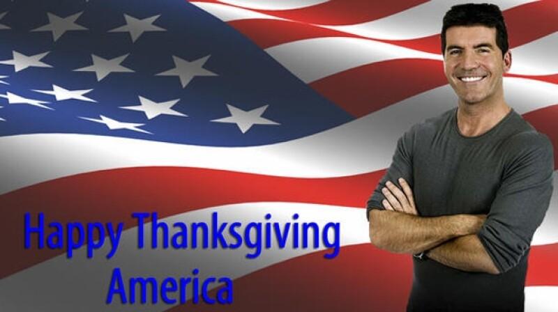 Simon Cowell felicitó a los estadounidense.