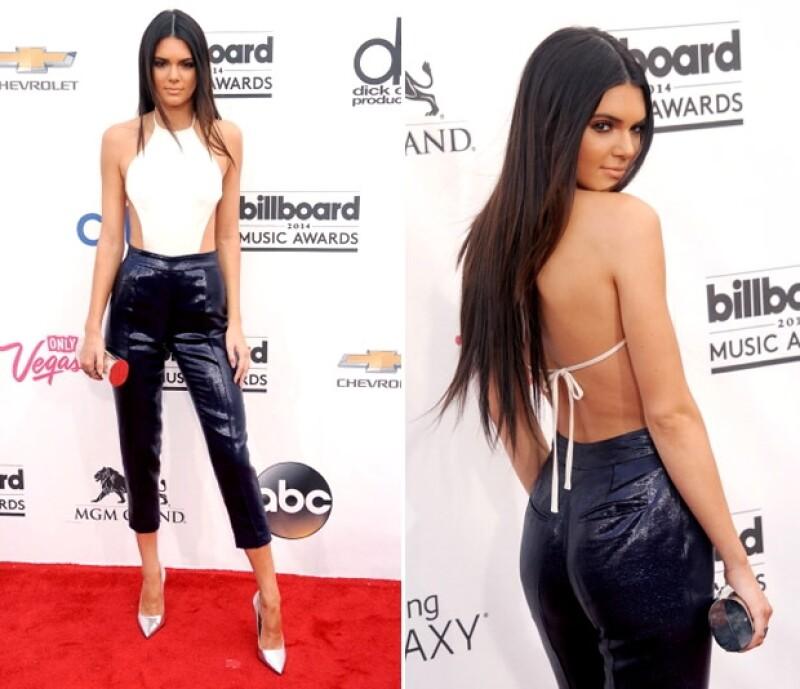 Kendall Jenner en Olcay Gulsen.
